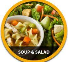 Soup, Salad, & Desserts