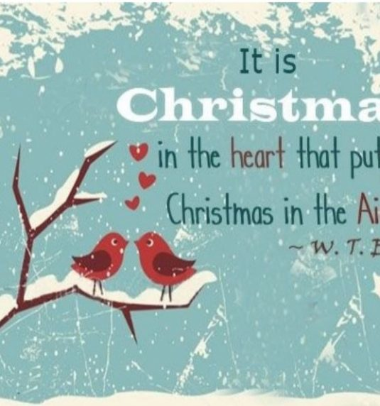 Christmas Is In the Air! December 16