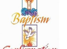 January 14, 2018 – Baptism and Confirmation