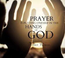 Prayer Classes – Starting April 16, 2018