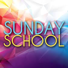Sunday School Information